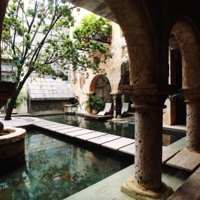 now this is a courtyard.